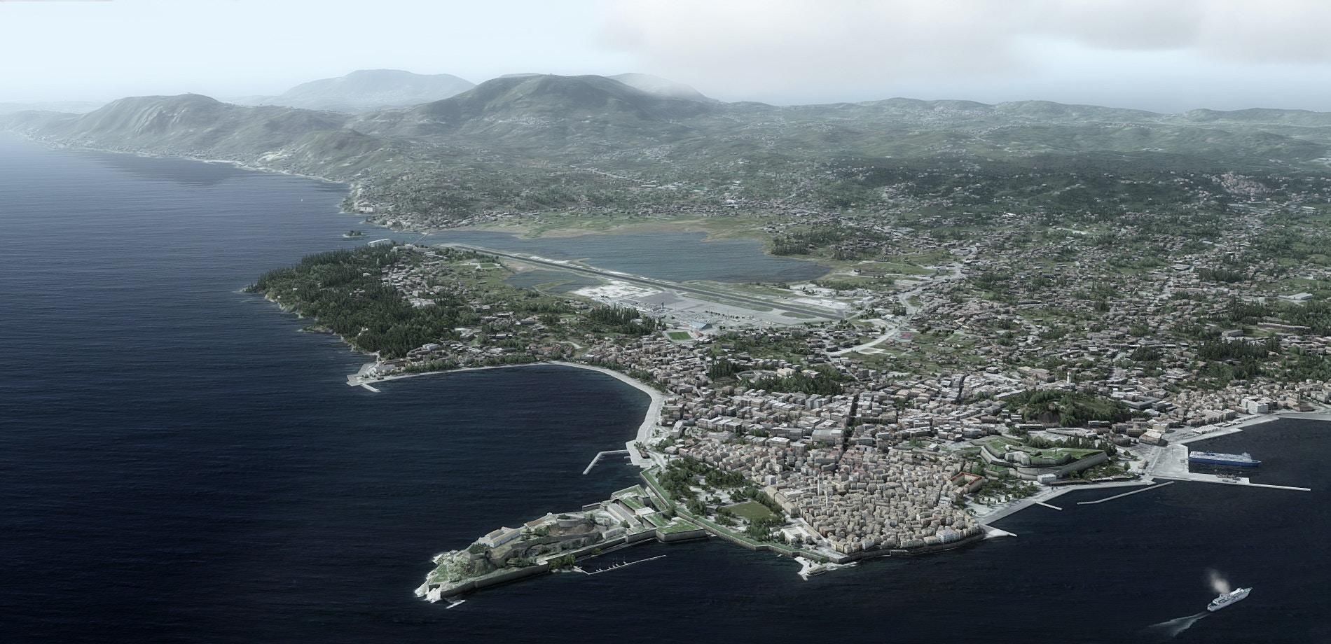 FlyTampa – Corfu (LGKR / CFU) – DCTRY