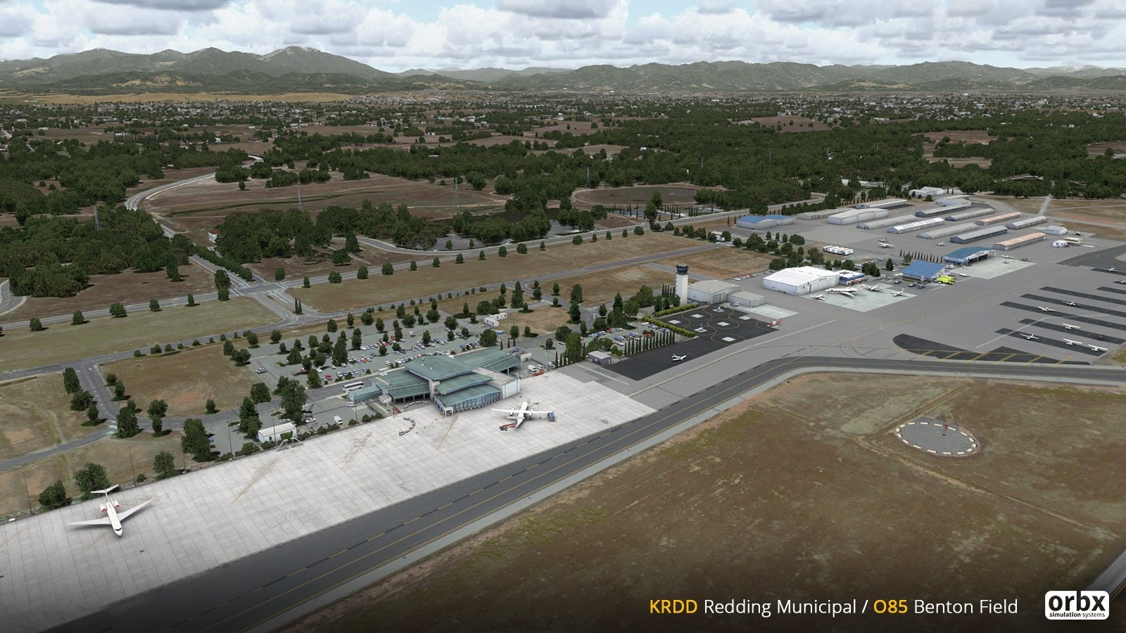Orbx – Redding Municipal Airport (KRDD / RDD) – DCTRY