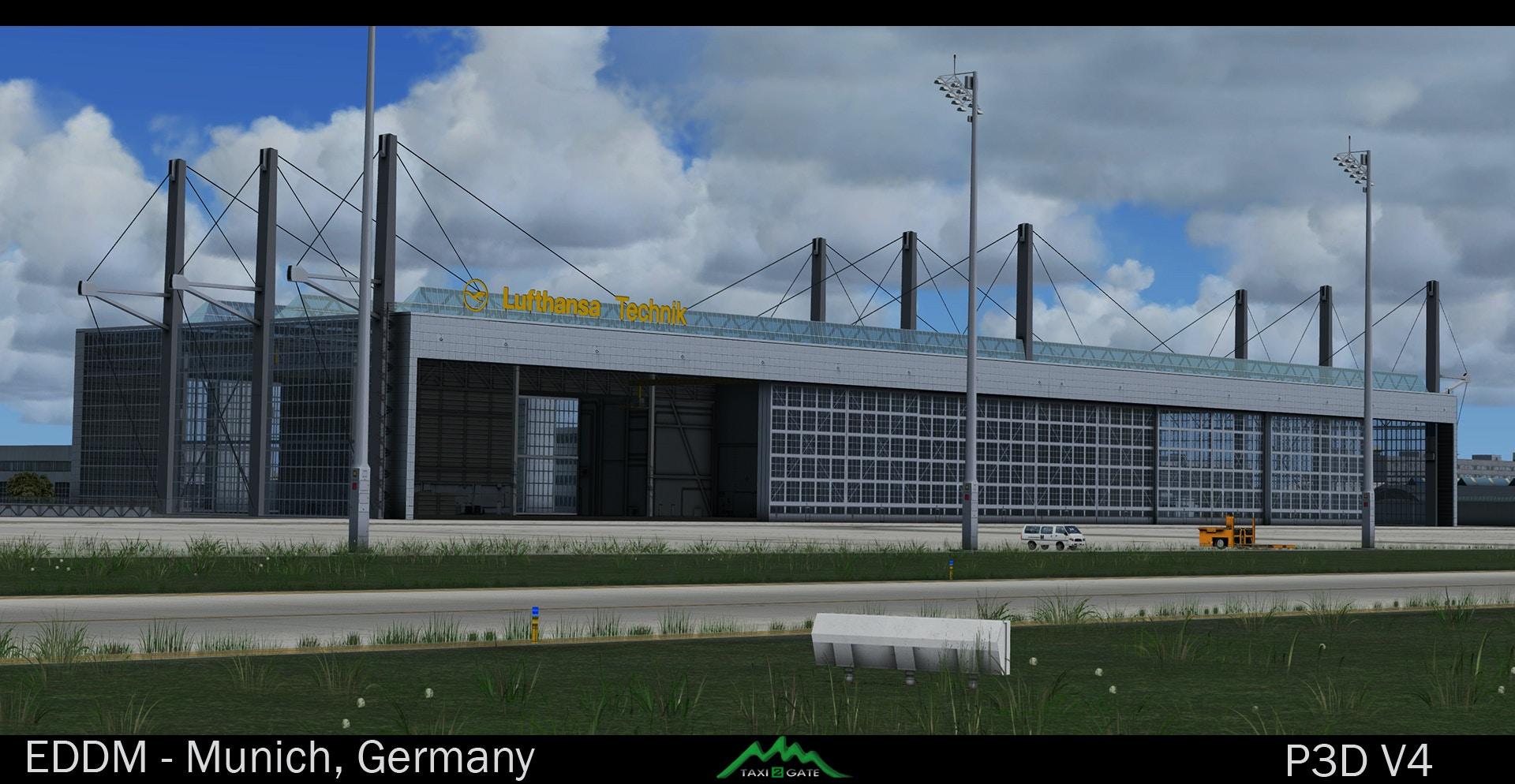 Taxi2Gate – Munich Airport (EDDM / MUC) – DCTRY