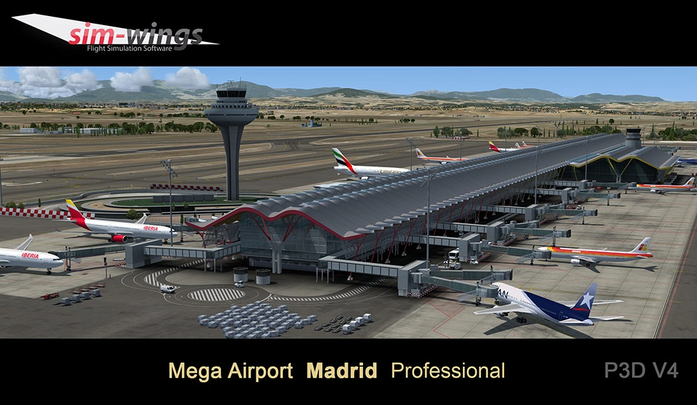 Sim-Wings – Madrid Professional (LEMD / MAD) – DCTRY